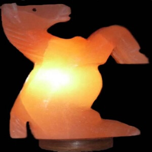 ANIMAL SHAPED SALT LAMPS