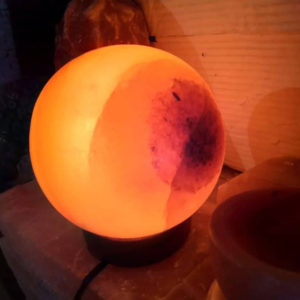 Ball Salt Lamp